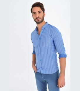 طرح ماهی rtı مردانه پیراهن