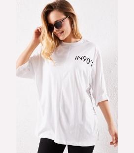 زنانه سفید تیشرت P0000