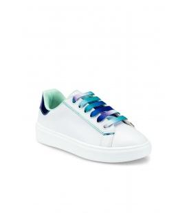 F آبی دخترانه بچه گانه کتونی کفش