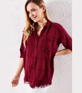 زنانه قرمز جیگری پیراهن و Bz