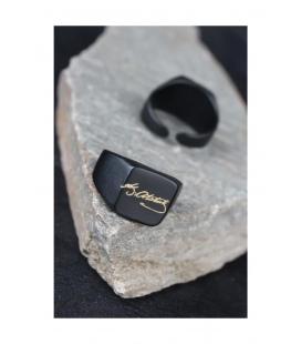 مشکی فلزی مردانه انگشتر