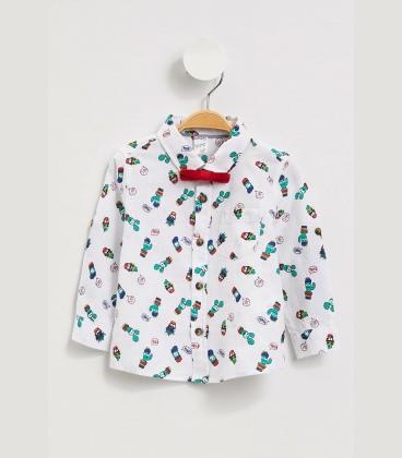 سفید مردانه نوزاد پیراهن