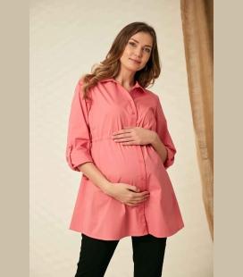 Görn کمر Bağcık حاملگی صورتی پیراهن O0