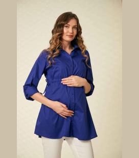 زنانه سرمه ای Be Bağcık حاملگی پیراهن