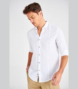 سفید مردانه پیراهن TMN0GO00