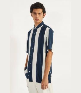 مردانه izci آبی طرحدار پیراهن 000