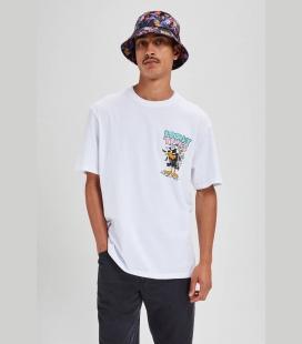 مردانه سفید Looney Tunes Daffy Duck تیشرت 00