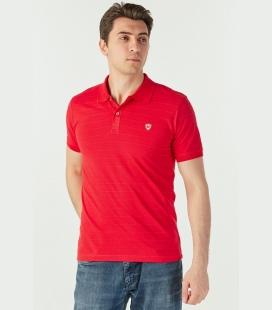 مردانه Kenn راه راه قرمز تیشرت