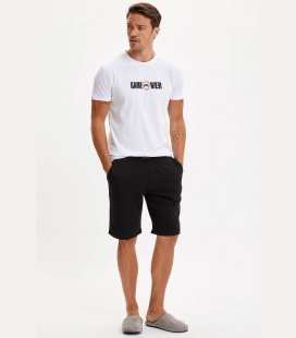مردانه سفید و لباس راحتی ست کامل S0AZ0SPWT