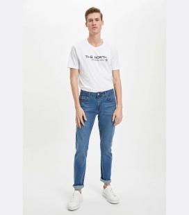مردانه آبی Sergio اندامی جین شلوار RAZ0SMNM