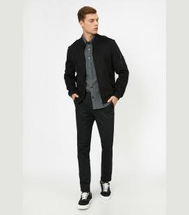 مردانه مشکی جیب دار شلوار 0YAM00BW