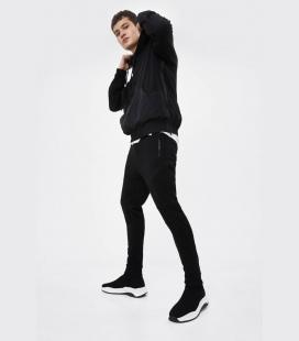 مردانه مشکی جوراب مدل ورزشی کفش