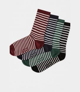 مردانه رنگی ' راه راه جوراب i 0