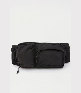 مردانه مشکی جیب دار کمر کیف 0