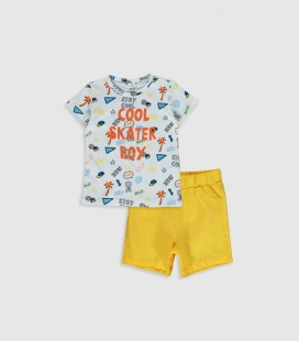 مردانه نوزاد نارنجی Lsr ست
