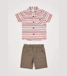مردانه نوزاد پیراهن شورت ست