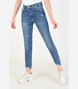 زنانه K رنگ Paça جین